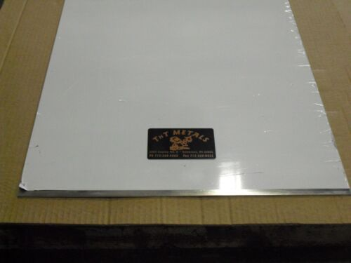 """1//8/"""" Aluminum 12/"""" x 30/"""" 5052 Sheet Plate with Vinyl PVC Coating one side"""