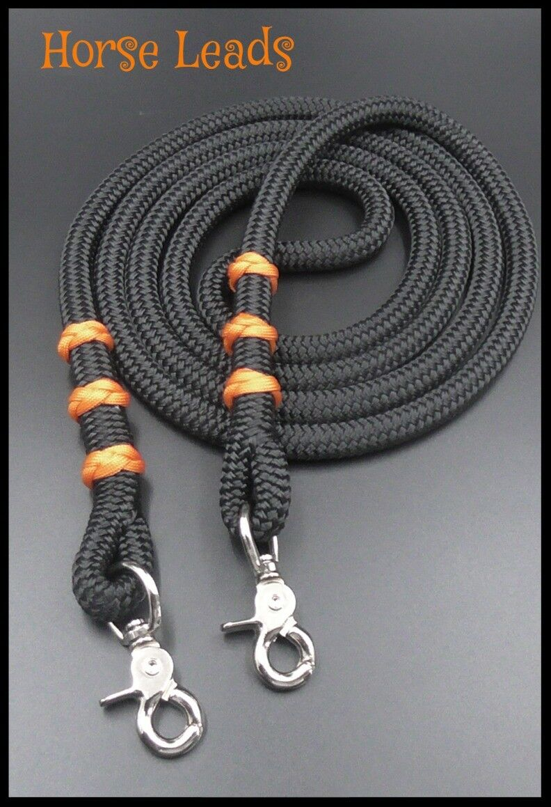 Rope Reins Class and Quality Finesse Natural Horsemanship