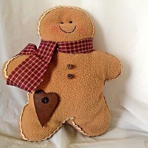 Audrey-039-s-11-034-Gingerbread-Boy-Plush-Rustic-Man-Lebanon-PA