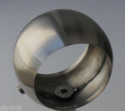 Edelstahl Handlaufträger Kugelring 42,4 V2A 33,7 Handlaufring VA Aufnahme Ring