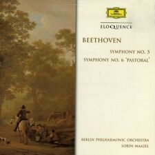 Ludwig van Beethoven - Beethoven: Sym Nos 5 & 6 [New CD]