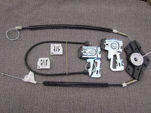 Skoda Octavia I Électrique Lève Vitre Kit De Réparation Câble-Arrière droit
