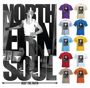 Northern-Soul-Mantenere-la-fede-T-Shirt-TAMLA-MOTOWN-Wigan-Casino-039-MOD-S-a-XXXL