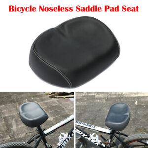 Big Ass Bike Saddle Wide Large Bike Cycling Noseless Soft PVC PU Seat NEW