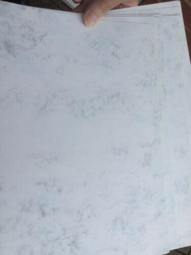 10 X A4 Tarjeta de marltone de mármol duchas 300GSM doble cara GF Smith libre de corte