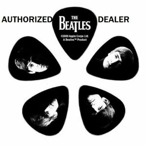Meet-the-Beatles-Guitar-Picks-10-pack-Medium-1CBK4-10B2-D-039-Addario-Collector