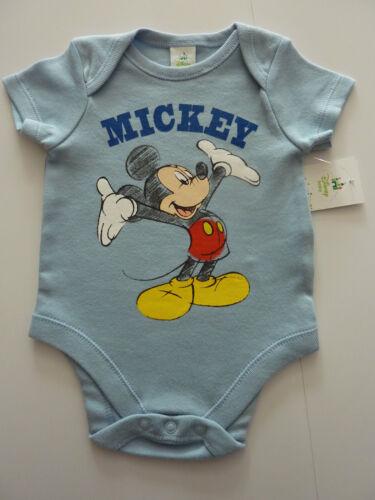 DISNEY  Really Cute Mickey Mouse Blue Bodysuit NWT