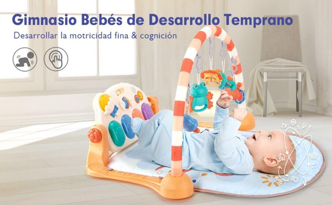 ⭐⭐⭐⭐⭐ESPAÑA ENVIOS- Alfombra de Juegos para Bebé Gimnasio Infantil Actividad.