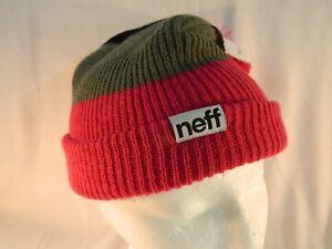 c234816266b Neff Snappy Beanie Trio Magenta-Red Grey Black One Size Fits All ...