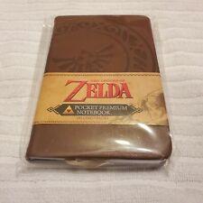 The Legend Of Zelda Pocket Ruled Premium Bound A6 Note Book Triforce Design
