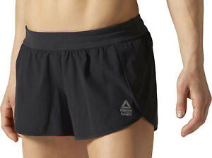 4bc1379dc4f Image is loading Reebok-Crossfit-KNW-Womens-Training-Shorts-Black