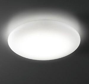 Lampada-da-soffitto-LED-12W-1080Lm-luce-diffusa-plafoniera-tonda-230v-resa-110w