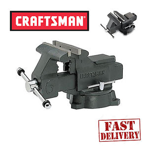 ... Bench-Vise-6inch-Press-Clamp-Jaws-Machine-Repair-Woodworking-Vice-Tool
