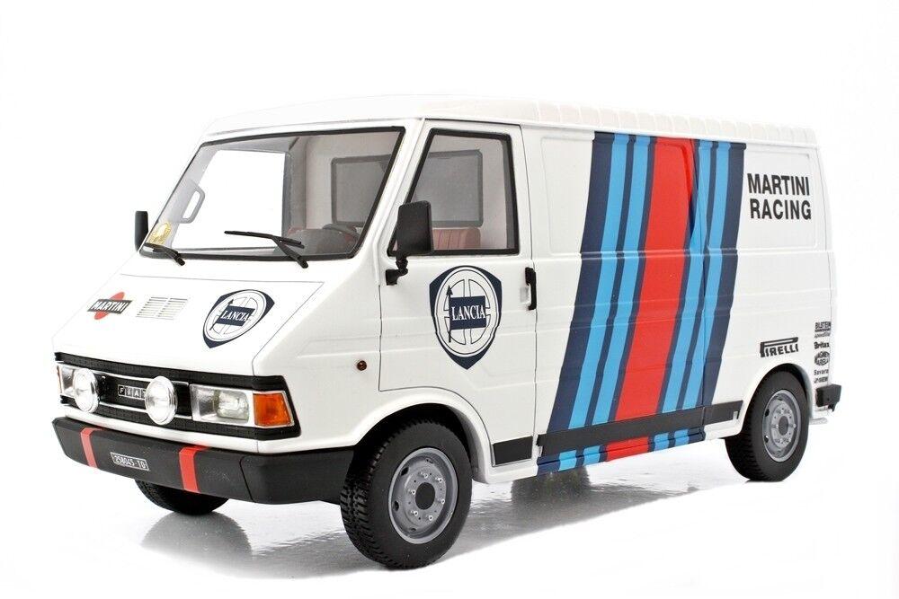 LAUDORACING-MODELS FIAT 242 ASSISTENZA LANCIA FOR KYOSHO AUTOART 1 18 LM107B1