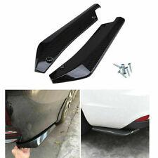 2pcs Car Carbon Bumper Spoiler Rear Lip Side Skirt Splitter Diffuser Winglet Kit Fits Cayenne