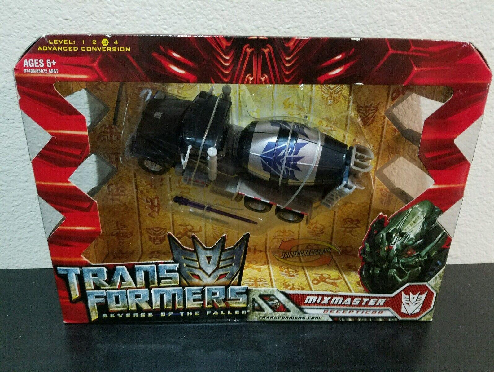 Transformers Mixmaster Revenge of the Fallen - NEW - RARE MISB