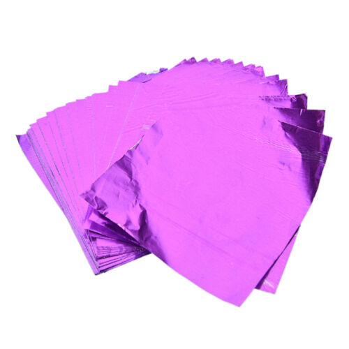 500pcs Square Foil Wrappers For Candy Chocolate Sweets Confectionery N Bn