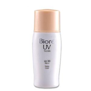 Sunblock Window Tint >> Biore Kao UV Bright Face Tint Milk Ivory Lotion SPF 30 PA ...