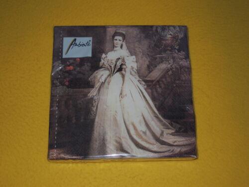 20 servilletas Sissi Austria emperatriz Elizabeth 1 envase OVP personas 1//4 am