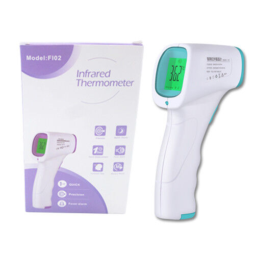 Non-contact fever lcd digital thermometer infrared in the forehead temperature