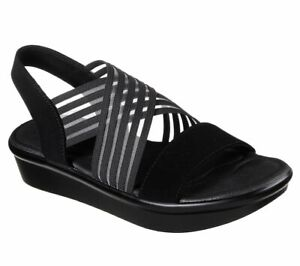 Skechers-Womens-Cali-Bumblers-Stop-N-Stare-White-Strappy-Slingback-Sandals-31625