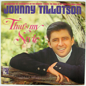 JOHNNY-TILLOTSON-That-039-s-My-Style-LP-NM-NM