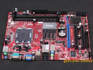 Original Msi Ms 7529 G31tm P21 Intel G31 Motherboard Lga 775 Ddr2 Ebay