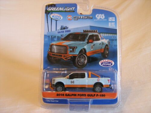 2017 GreenLight Galpin Ford Exclusive Gulf 2016 Ford F150 LE