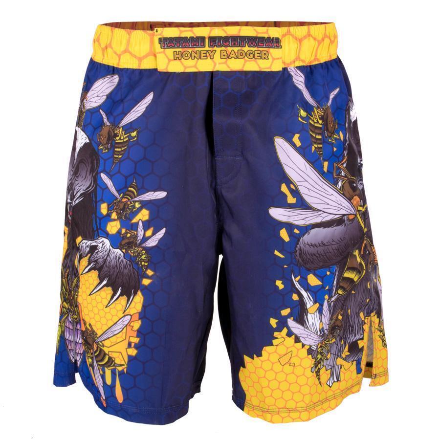 Tatami Kinder Honey Badger V5 Shorts Blau Jiu Jiu Jiu Jitsu Kein Gi Kampftraining Kampf 4b077e