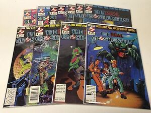 THE-REAL-GHOSTBUSTERS-1-11-NOW-COMICS-1988-0716160-COMPLETE-SET-LOT-OF-11