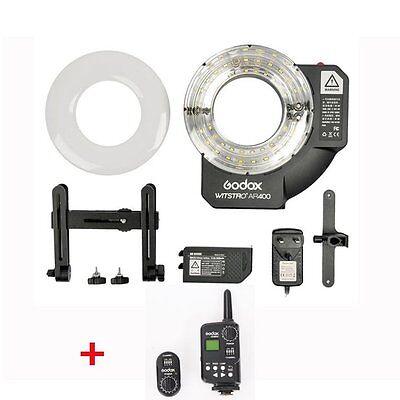Godox 400W Li-ion Ring Flash & LED Video Light With FT-16 Wireless Trigger Kit