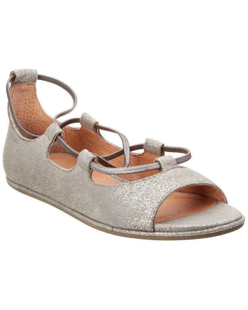 Mjuka själar Lark läder Sandal Sandal Sandal  varumärke på försäljningsbevis