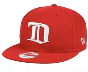 Detroit-Red-Wings-All-Day-Snapback-New-Era-Hat-Cap-Nhl-Red-Hockey-Msrp-32