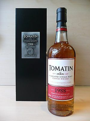 Tomatin Vintage 1988 Batch No.2 Single Malt Whisky 26 Jahre 70 cl