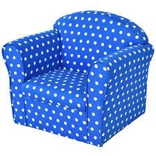 Blue Wstars Kid Sofa Armrest Chair Couch Children Living Room