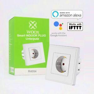 2x-WOOX-R4054-Smart-Wandfunksteckdose-16A-APP-amp-sprachgesteuert-Alexa-Google