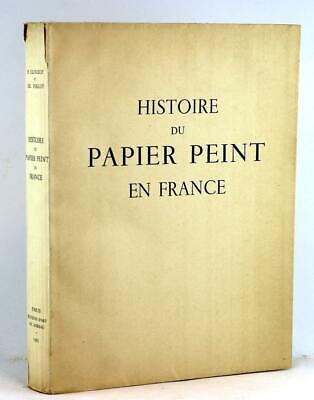 French Wallpaper History 1935 Histoire du Papier Peint en France Clouzot Follot   eBay