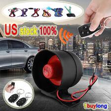 Universal Vehicle Burglar 1-way Keyless Entry Security System Car Alarms Re