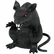 15cm Gothic Boneyard Halloween Party Evil Black Monster Rat Prop Decoration