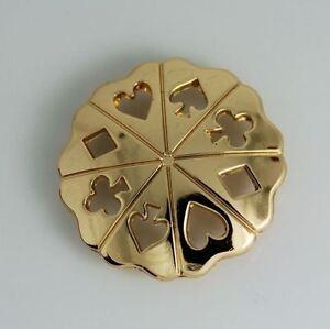 2 st ck western concho poker symbole concha nieten zum. Black Bedroom Furniture Sets. Home Design Ideas