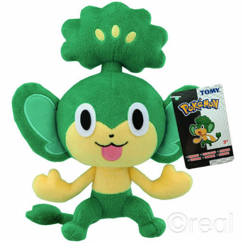 Pokemon 8  Pansage Plush Soft Official Kids Cuddly Toy
