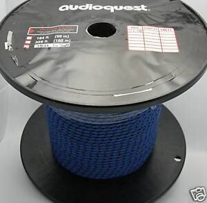 Audioquest G Snake Braided Bulk Cable Sold By The Foot Ebay