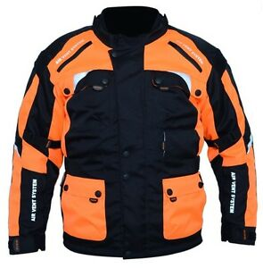 Motorcycle-motorbike-textile-men-039-s-biker-039-s-jacket-Armoured-WaterProof-CE-Armours