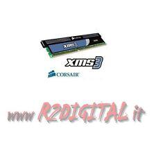 CORSAIR 4 Gb XMS3 DDR3 1600 MHZ MEMORIA RAM PC3 con DISSIPATORE BOX