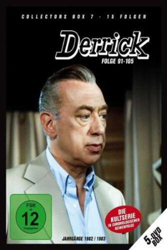 1 von 1 - 5 DVDs * DERRICK - COLLECTOR'S  BOX 7 | HORST TAPPERT - FRITZ WEPPER  # NEU  OVP
