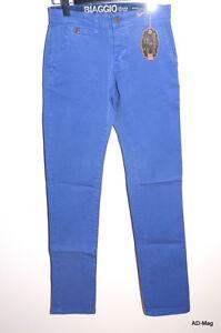 Pantalon-Chino-Homme-BIAGGO-JEANS-Taros-Indigo-Taile-28-US-38-FR-NEUF
