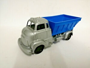 E-60-039-s-Tudor-Rose-Plastic-polythene-dumper-truck-lorry-BLUE-Old-toy-shop-stock