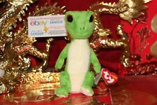b11da5d1d21 item 6 TY BEANIE BABY GUS THE GECKO WITH RED EYES.7