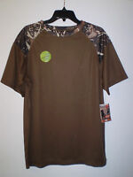 Canyon Guide Men's Short Sleeve Performance Shirt Speed Dry (l) Large Camouflage