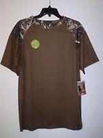 Canyon Guide Men's Short Sleeve Performance Shirt Speed Dry (m) Medium Camouflag